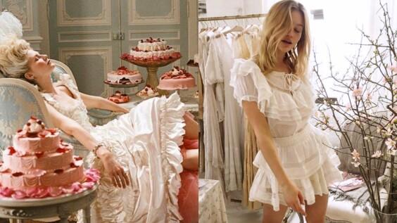 依然對《凡爾賽拜金女》的浪漫古典戲服著迷嗎?那麼LoveShackFancy的洋裝絕對能實現你的憧憬!