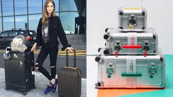 行李箱不能只知道RIMOWA!時尚部落客Chiara Ferragni愛用的FPM正式登台