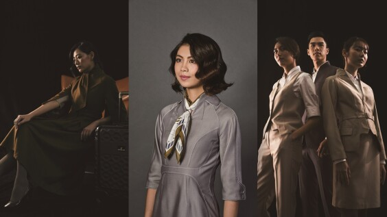 星宇航空5大特色總整理!空姐穿復古棕色斗篷大衣、銀灰色洋裝美呆,從制服到機艙都超時尚