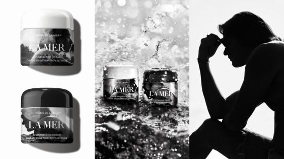海洋拉娜最時髦前衛的經典乳霜,2019攜手Mario Sorrenti推出黑白攝影限量版
