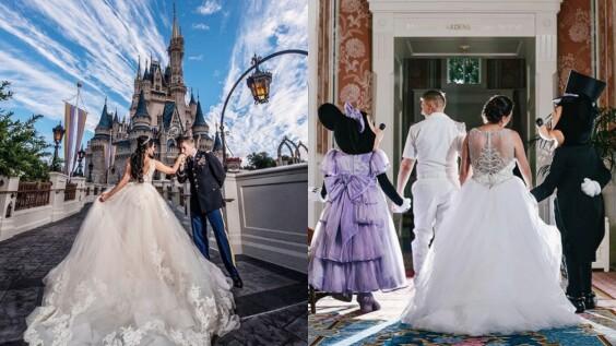 就讓小時候的偶像牽你走進禮堂!今年起你也能正式在美國迪士尼四大樂園中舉辦夢想婚禮了!