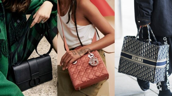 【Dior 2019熱賣TOP5】從黛安娜王妃鍾愛的Lady Dior,到一系列極致霧黑的經典包款...哪一款最中你的心?