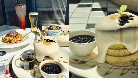 【松菸美食】《溫叨咖啡餐酒館》推松菸誠品獨家餐點,必吃蜜漬醃肉、珍珠奶茶鬆餅