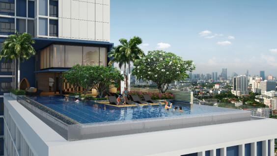 曼谷無邊際泳池新酒店Sindhorn Midtown快閃促銷,一晚只要泰銖2222!