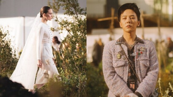 G-Dragon回歸後的首場時裝秀!Chanel香奈兒以氣質滿分的新娘禮服劃下2020春夏高訂尾聲