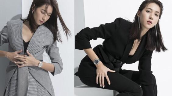 楊晴強勢女力錶現〜盡在天梭表PR 100 Sport Chic系列,展現霸氣魅力果然有感覺!
