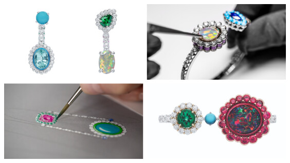「你和我」的雙生寓意太有詩意,Dior et Moi 高級珠寶用彩色寶石和怪誕綺想為大家製造浪漫!
