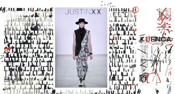 紐約時裝週|「時間在布料淬煉出經典純粹之美」周裕穎領軍JUST IN XX玩布料,重現台灣抽象藝術大師莊普方印畫
