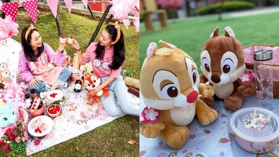「迪士尼櫻花季快閃店」登場!4大打卡點、奇奇蒂蒂&小飛象等600項商品公開,還加碼舉辦粉紅野餐派對