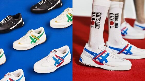 一穿就是女神比例長腿!Onitsuka Tiger全新厚底鞋款DELEGATION EX,向2020東京奧運致敬