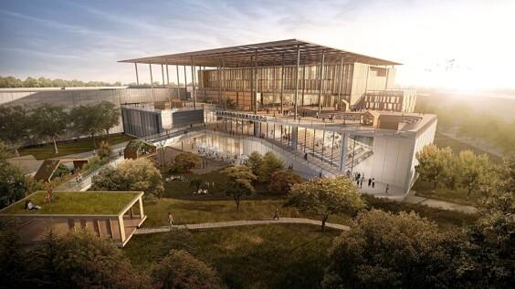 角逐全台最美圖書館!座落大自然中的「國家圖書館南部分館」,恣意在花海、林蔭中舒適閱讀
