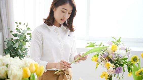 Daily Life Daily Love用花草和衣物為自己打造幸福好生活~花藝師Mandy