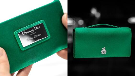 Dior推出全新Gem寶石晚宴包,紅寶石、藍寶石、祖母綠...讓人想全包色