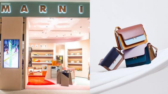 風琴包始祖Marni正式回歸台灣!首間專賣店就開在這處,明星包款Trunk換上氣質撞色