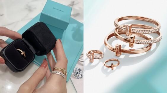 試戴報告|Tiffany T推出全新子系列T1,斜角線條與細密鑲鑽細節超美,3萬就能擁有!(附影片與完整盤點)