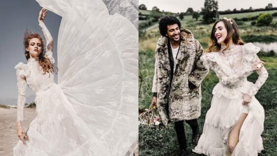英國婚紗品牌Katya Katya—以浪漫不羈的波希米亞風格婚紗,抓住準新娘的心!
