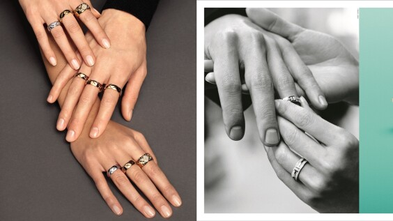 無性別對戒推薦,Bulgari、Boucheron、Chanel、Cartier、Tiffany、Graff...精選時髦單品