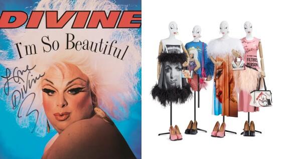 支持性別平權也做公益!Loewe推出Divine系列向美國變裝皇后致敬