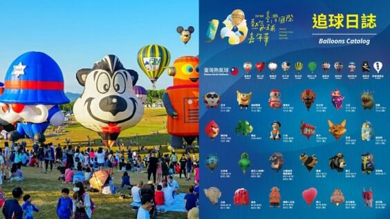 2020台東熱氣球嘉年華夢幻升空!維持51天年度盛事不縮水,搭乘費用、光雕音樂會日期完整懶人包