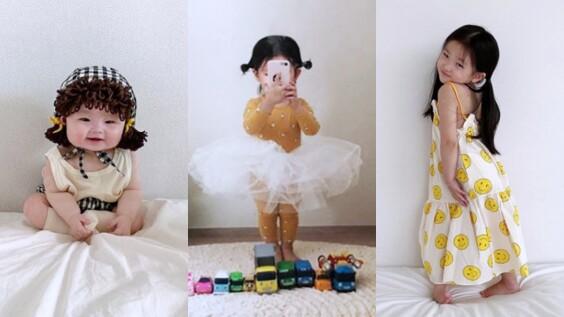 還有誰比她們更萌更時髦!來自韓國的小網紅姐妹檔這就告訴你