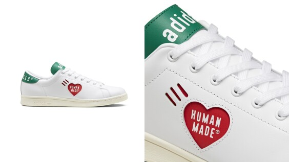 Stan Smith變成愛心圖案!adidas Originals X Human Made再度來襲,3大系列鞋款帶你看仔細