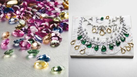 這些珠寶設計師都是色票控!Bulgari、Dior、Piaget、Tiffany & Co.、Van Cleef & Arpels的愛用彩色寶石本篇為你解答