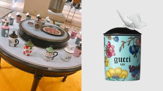 Gucci Decor 香氛蠟燭美得像藝術品!百年陶瓷瓶身配上彩繪圖案,迷死香氛控,最熱賣款式推薦