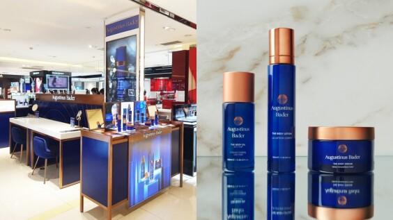 德國頂級抗老品牌 Augustinus Bader 一罐「德國AB藍霜」賣翻全球,紅到維多莉亞貝克漢指名合作,2020正式進軍台灣