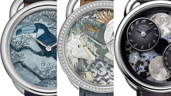 鐘錶小學堂│成就Hermès手錶的幕後人物是誰?認識隕石獵人、動物科學家…與愛馬仕腕錶工藝亮點