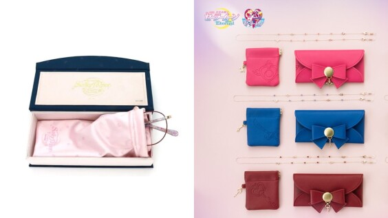 化身月光仙子、小小兔!Jins攜手美少女戰士打造聯名系列,還有眼鏡盒、眼鏡鍊週邊商品