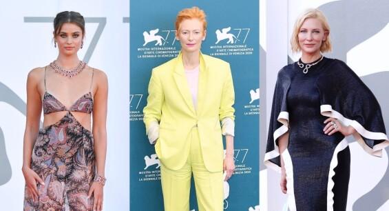 第77屆威尼斯影展最大焦點皆在這!凱特布蘭琪以「舊衣新穿」抓住話題、蒂妲史雲頓以女王氣場稱霸紅毯