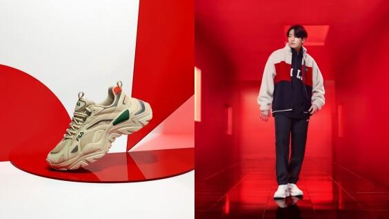 Army站出來!Fila聯手BTS防彈少年團推出大學T、老爹鞋、腰包…全新秋季系列,才剛預購就快銷售一空