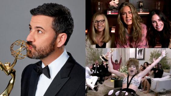 2020 艾美獎 線上典禮比往年還要精彩!消毒得獎信封、線下居家頒獎、《六人行》合體,精彩瞬間一次看!