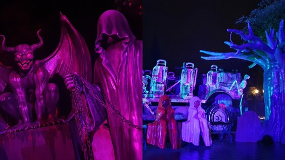 連假去六福村挑戰膽量!年度盛事「萬聖墓碑鎮」登場,10呎高惡魔、場場爆滿惡靈餐廳…好膽你就來
