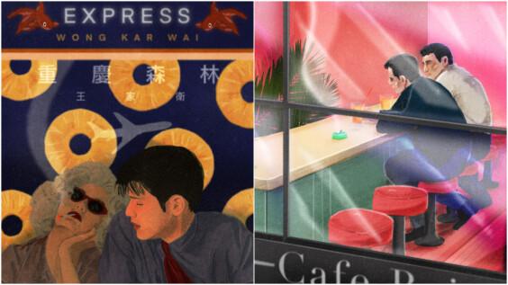 專訪英國插畫家Jamie Edler,從電影海報到酷兒插畫:「我想將所謂『正常』的陽剛形象注入溫柔和細膩」