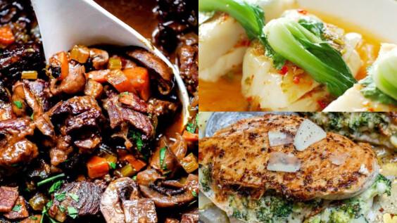 3道低碳高蛋白食物料理:杏鮑菇黑椒骰子牛、蒜蓉蒸魚、嫩煎雞胸肉料理來了!