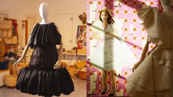 2021春夏巴黎時裝週 牆上的時裝秀!Loewe捨棄模特兒走秀方式,改以「壁畫拼貼」呈現生動的時尚大秀