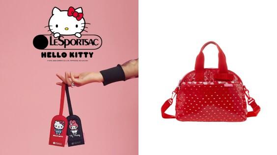 再度聯手Hello Kitty!LeSportsac X 三麗鷗聯名系列一次看,美樂蒂、大眼蛙都來了