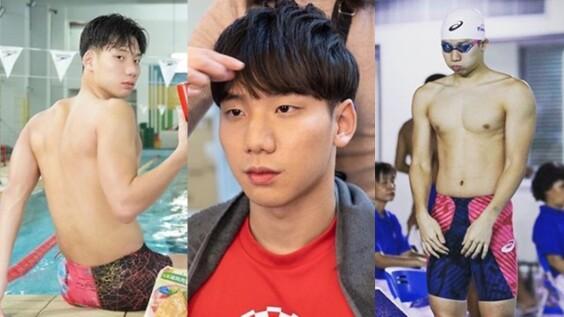 18歲王冠閎新一代天菜泳將爆紅!台灣第一人破世青記錄,韓系臉蛋加精實身材讓姊姊們心花怒放