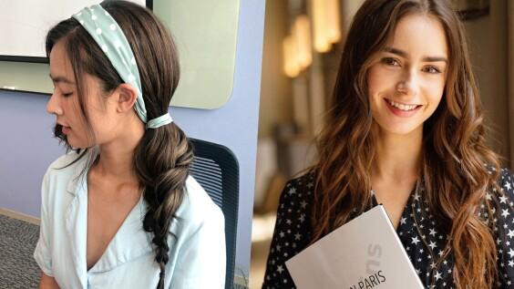 艾蜜莉在巴黎法式浪漫捲崛起!2020秋冬髮型必備:編髮、髮帶,自己就能輕鬆造型!