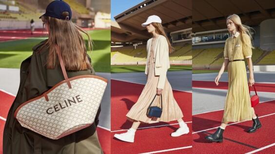 2021春夏巴黎時裝週|集優雅與率性於一身,每一套CELINE都是女孩們最佳穿搭範本
