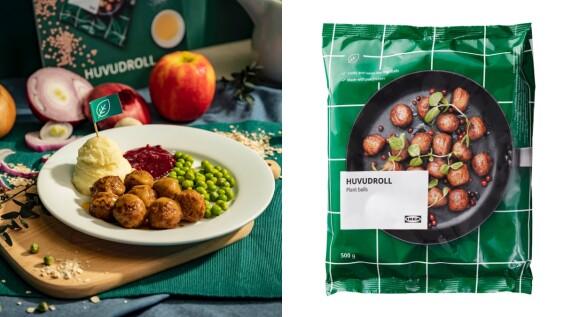 IKEA開賣「素肉丸」!口感神似招牌瑞典肉丸、碳足跡卻減少96%,吃美食之餘也能愛地球