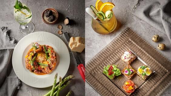 原來餐酒可以這樣搭!特聘來自佛羅倫斯的飲務專家推出微醺享食,台北美福GMT義大利餐廳五折限定