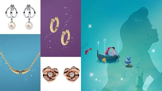 Aluxe亞立詩再度攜手迪士尼!推出小美人魚、睡美人、阿拉丁系列項鍊、耳骨夾、鎖骨鍊…