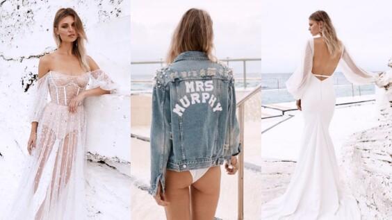 澳洲超夯婚紗品牌Chosen by One Day正式更名為Chosen by Kyha!最新釋出系列還有訂製牛仔夾克