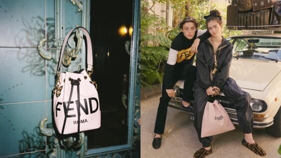充滿粉&金&黑色調的FENDI ROMA Holiday系列正式登場!聯名機能外套更是一大亮點