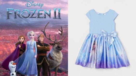 化身安娜、艾莎!H&M聯手《冰雪奇緣》打造萌系童裝,要爸媽荷包破洞才甘願