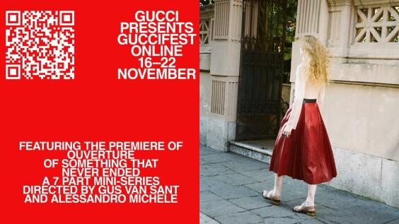 只有古馳能超越古馳!Gucci創意總監Alessandro Michele再發表《OUVERTURE 無盡序曲》全新迷你劇即將上線