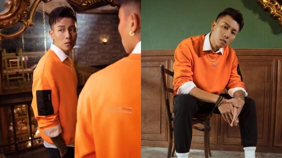 嘻哈男神E.SO瘦子穿上亮橘潮裝帥氣度刷新高!引發熱烈討論的球鞋是這雙