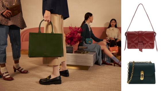 以絕美鞋履手袋打造精彩微奢復古LOOK,今年聖誕禮物就選CHARLES & KEITH!